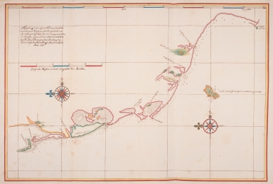 Map of the southwest coast of Formosa