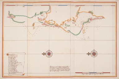 Map of the west coast of Formosa