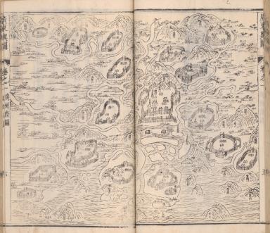 廣東輿圖卷之一 : 廣州府圖