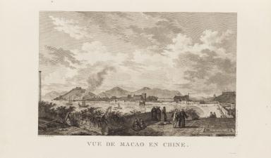 Vue de Macao en Chine