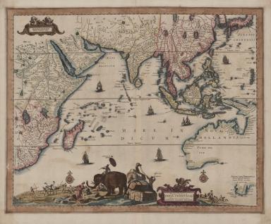 Nova tabula India Orientalis