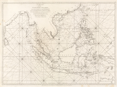 A chart of the East India Islands with the coasts of the continent from Caliminera Point to Amoye in China