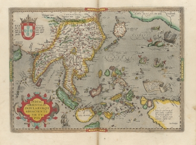 A map of the East Indies and surrounding islands