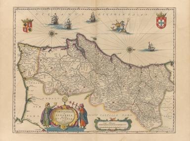 Portugallia et Algarbia quae olim Lusitania