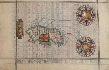 Chart of Ireland
