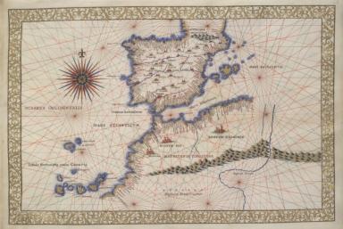 Western Mediterranean, Iberian peninsula, Northwest Africa