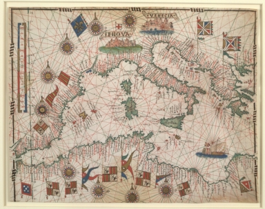 Mediterranean from Gibraltar to the Aegean Sea