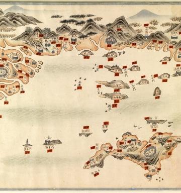 南中國海岸圖 = Carte des côtes sud de la Chine. Part 2