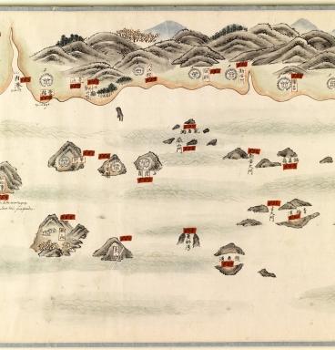南中國海岸圖 = Carte des côtes sud de la Chine. Part 19