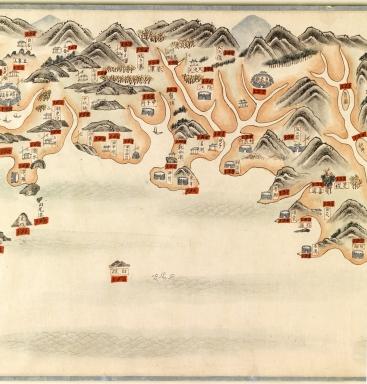 南中國海岸圖 = Carte des côtes sud de la Chine. Part 4