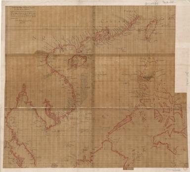 Carte des côtes de Siam et partie de celles de la Chine Depuis le port et l'Ile de Quemoy jusques à la pointe de la presqu'isle de Malaca avec les Isles de Formose, les Philippines, celles de la Sonde avec partie de celles des Moluques