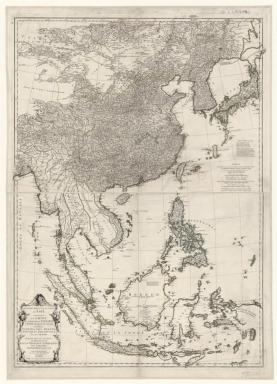 Seconde partie de la carte d'Asie contenant la Chine et partie de la Tartarie: publiée sous les auspices de Mgr le Duc d'Orléans
