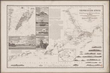 Die Chinesische Küste : der Provinz Kuang-tung zu beiden Seiten des Meridians, von Macao