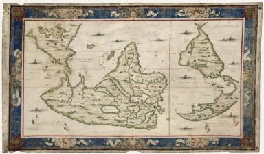 Planisphère / A Dieppe par Nicolas Desliens, 1566