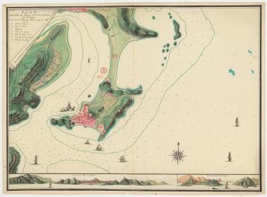 Plan de la ville de Macao et de ses environs aux Portugais / lever par Mr. Lafite de Brassier, ingr. des colonies