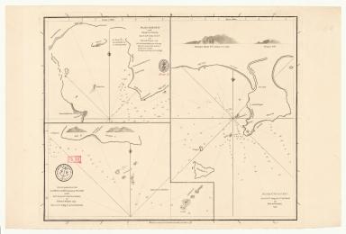 [Plan of Mirs Bay on the coast of China, Chart of the island Lamock, Lamon, Plan of Ping Hai Bay]