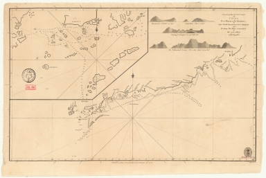 Chart of the south coast of China from Macao to The Brothers