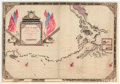 Plan et carte particulière de la rivière de Cantong et ses environs et depuis l'isle de Sancien jusque à celle de Makao