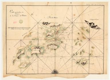 Carte particuliere de l'entrée de la Riviere de Canton
