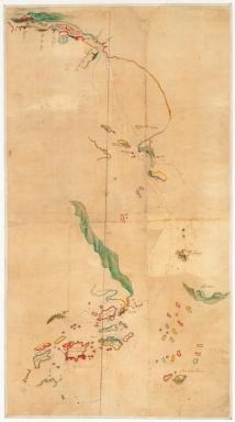 Carte de la rivière de Canton