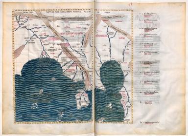 Claudius Ptolemaeus , Cosmographia , Jacobus Angelus interpres
