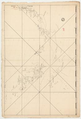 Carte de la rivière de Canton et des îles