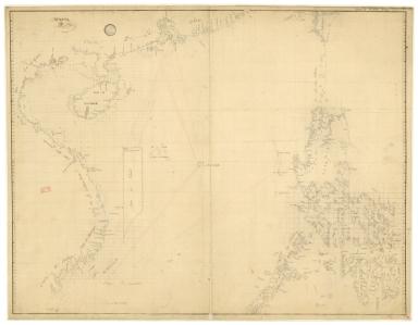 [Carte des mers de Canton à Cambodge et aux Philippines]