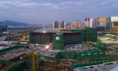 路氹醫院及路氹城一帶的建設