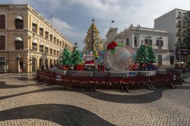 議事亭前地聖誕燈飾