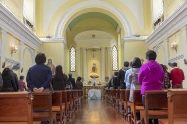 嘉模堂,澳門教區首要主保-聖母無染原罪瞻禮
