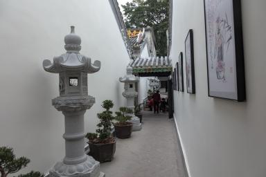 """被非法修改的""""普濟禪院"""""""