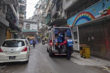 救護車為市民服務