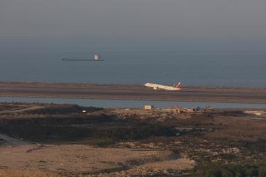 垃圾堆填區及澳門國際機場