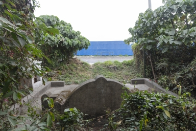 九澳村口,拜祭水神的神壇,為本澳較小見的神壇