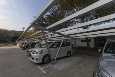 環保太陽能停車棚改造