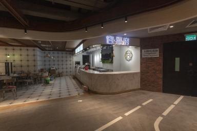 """即將開業的O座""""美食廣場"""""""