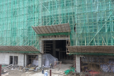 建設中的R座