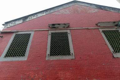 媽閣廟內堂的窗戶結構