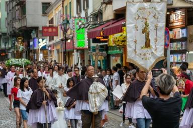 聖安多尼堂聖像出遊