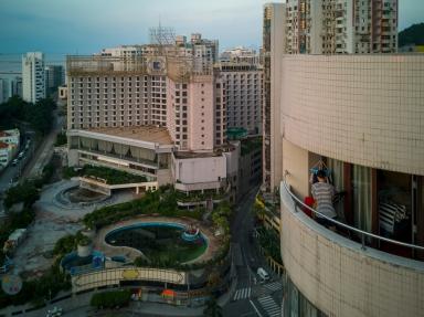 結業的新世紀酒店