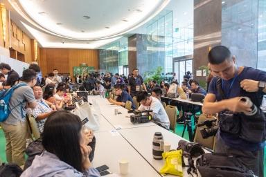 澳門東亞運動會體育館,第五屆澳門特首選舉