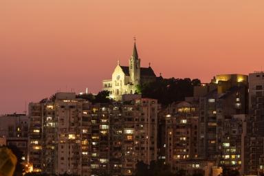 西望洋聖堂黃昏