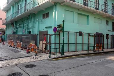 大街,新中央酒店外墙