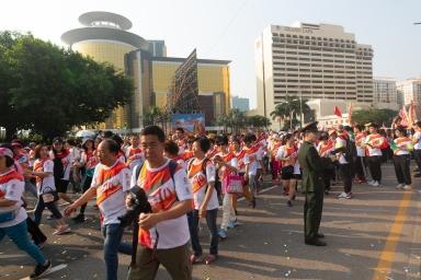 2019年國慶升旗儀式及國慶長跑
