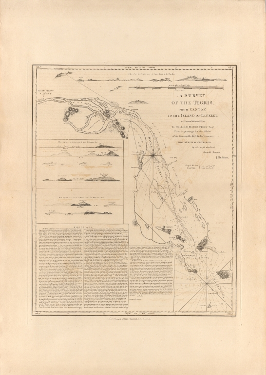 A Survey of the Tigris, from C̄anton to the island of Lankeet