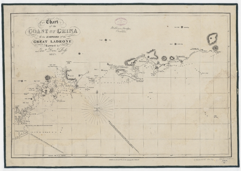 Chart of the coast of China to the eastward of the great Ladrone