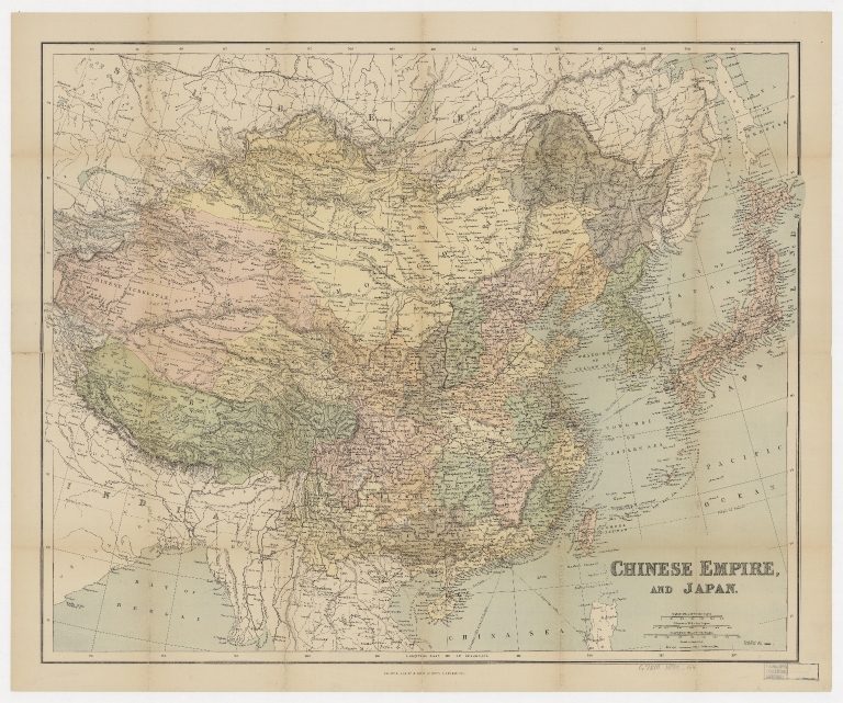 Chinese empire, and Japan