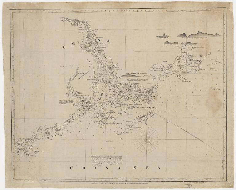 [Chart of the China Sea]