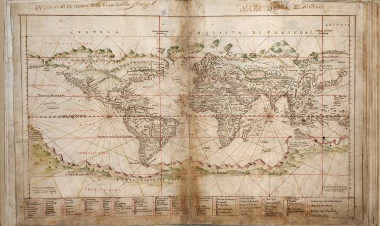 Albernaz coast map of world