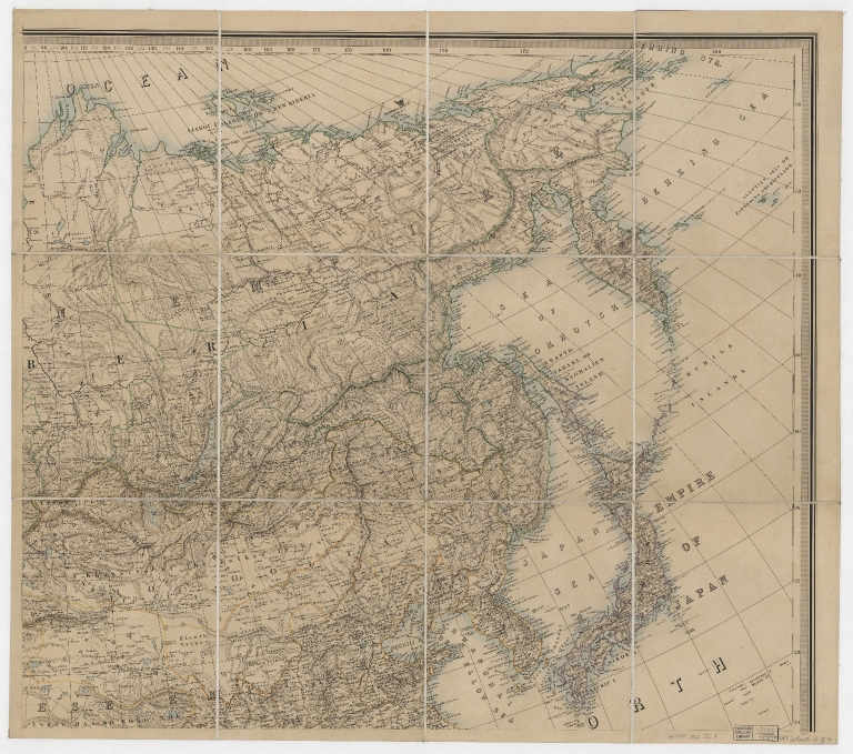 Stanford's library map of Asia. Part 2